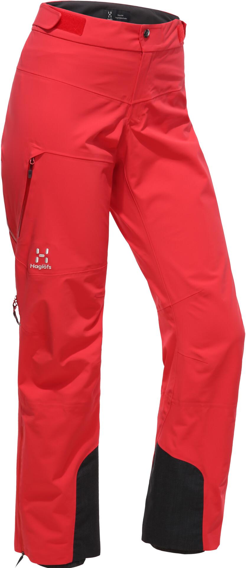 Haglöfs L.I.M Touring Proof Pantaloni Donna, hibiscus red su Addnature V5ZLX